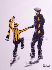 Hull City  My First Match 20'' x 30'' Box Canvas